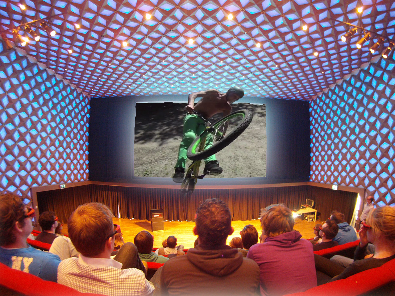 Flying Dirtmen 3D @ 3Dnl Livelab